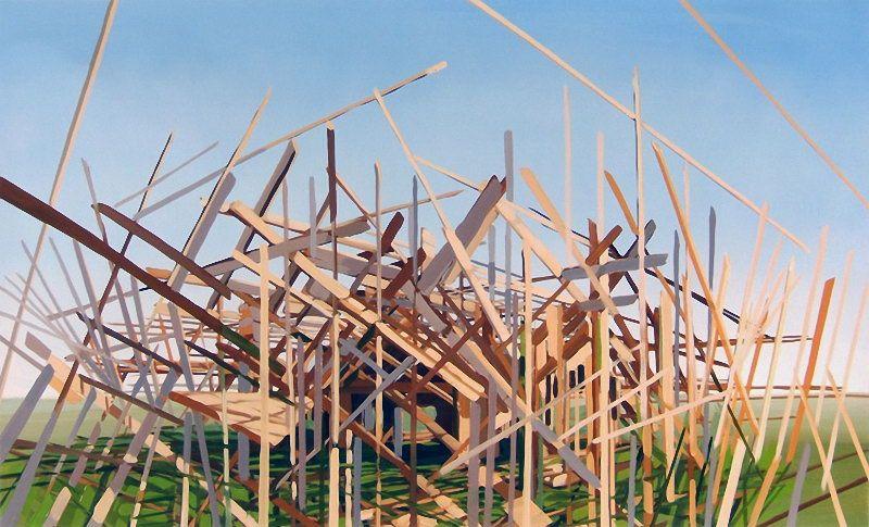 Взорванные дома от Ben Grasso