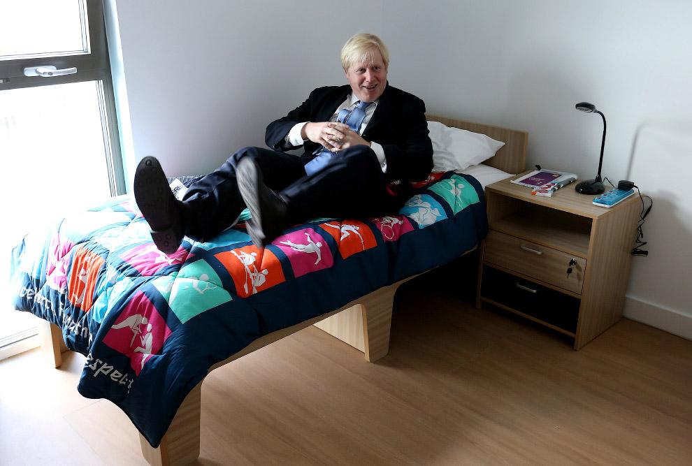 7. 4 мая 2012 года Джонсон с результатом в 51.5% голосов был переизбран мэром Лондона. (Фото Nicholl