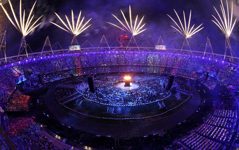 самое красивое и зрелищное открытие олимпиады за историю Советский, Россия