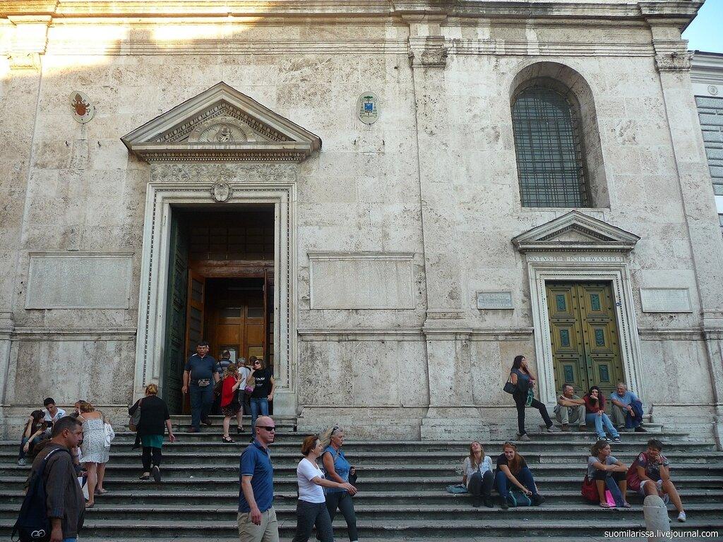 Basilica di Santa Maria del Popolo.