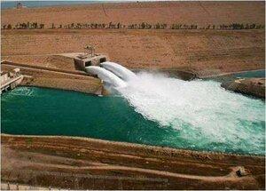 Схема донный водовыпуск