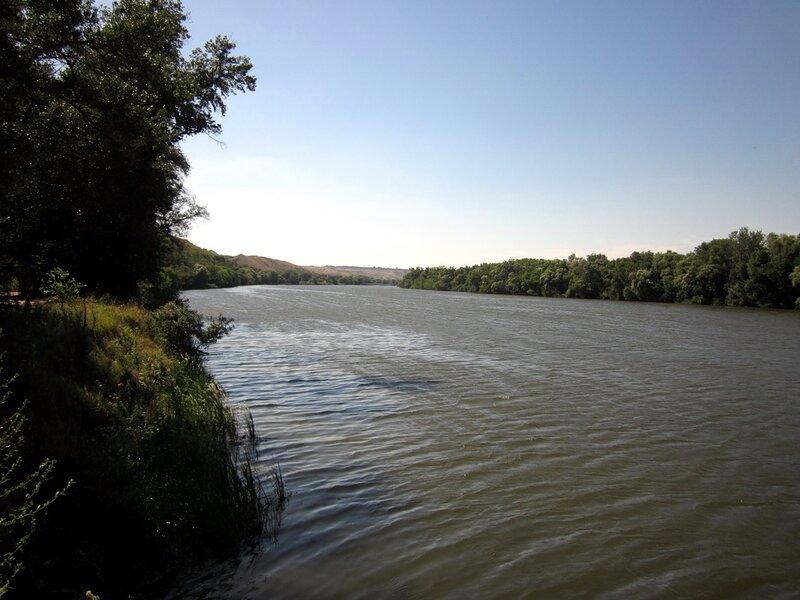 Северский Донец (против течения)