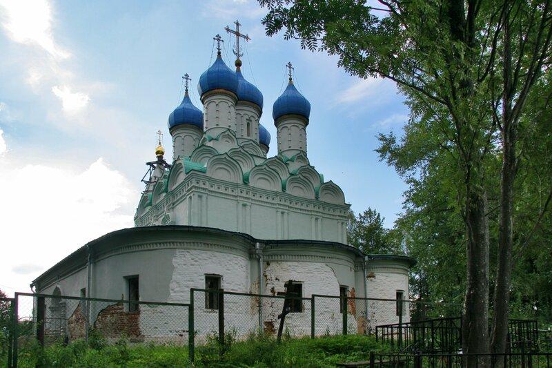 Батюшково, Никольский храм, восточная стена