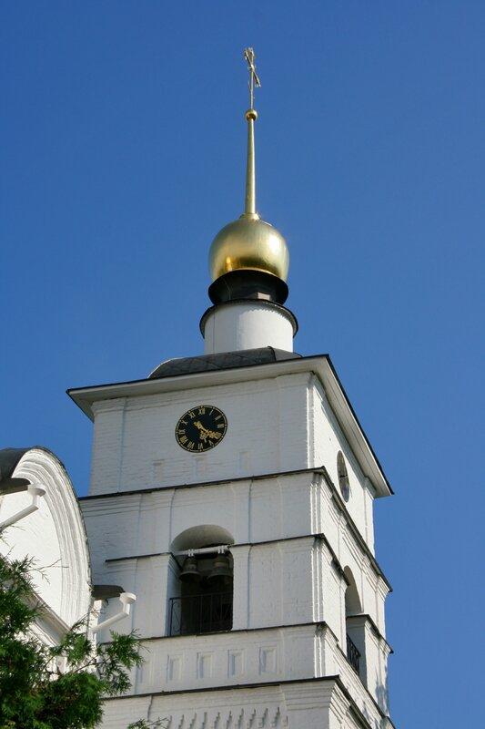 Дмитров, Борисоглебский монастырь, Колокольня собора Бориса и Глеба