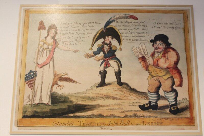 Выставка американских карикатур