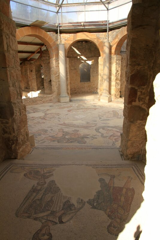Сицилия, Вилла Казале