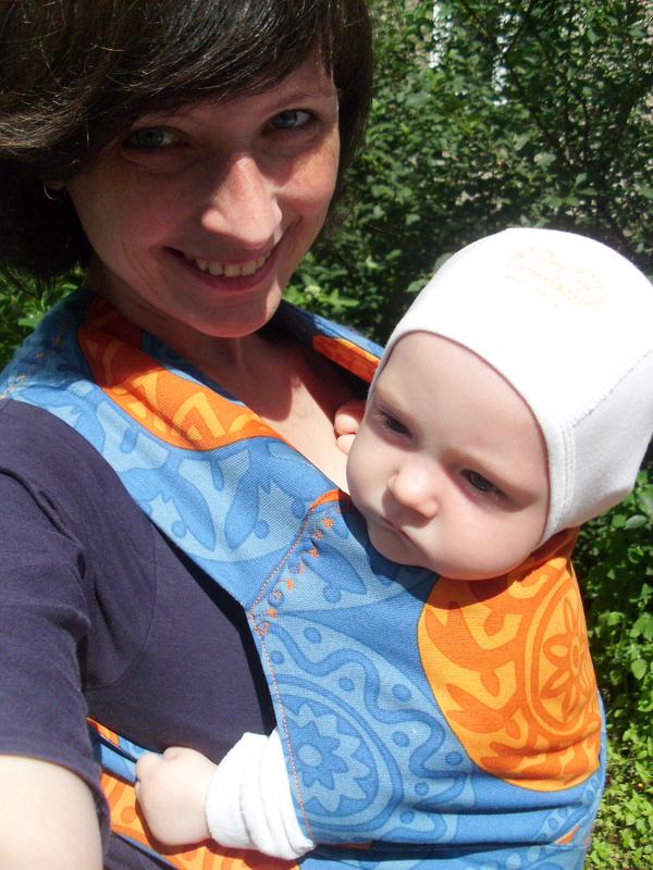 Май-слинг своими руками: мастер-класс с фото Активная мама