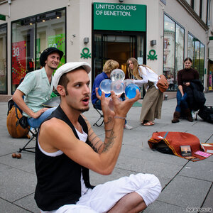 Уличная магия (магия, Осло, шарик)