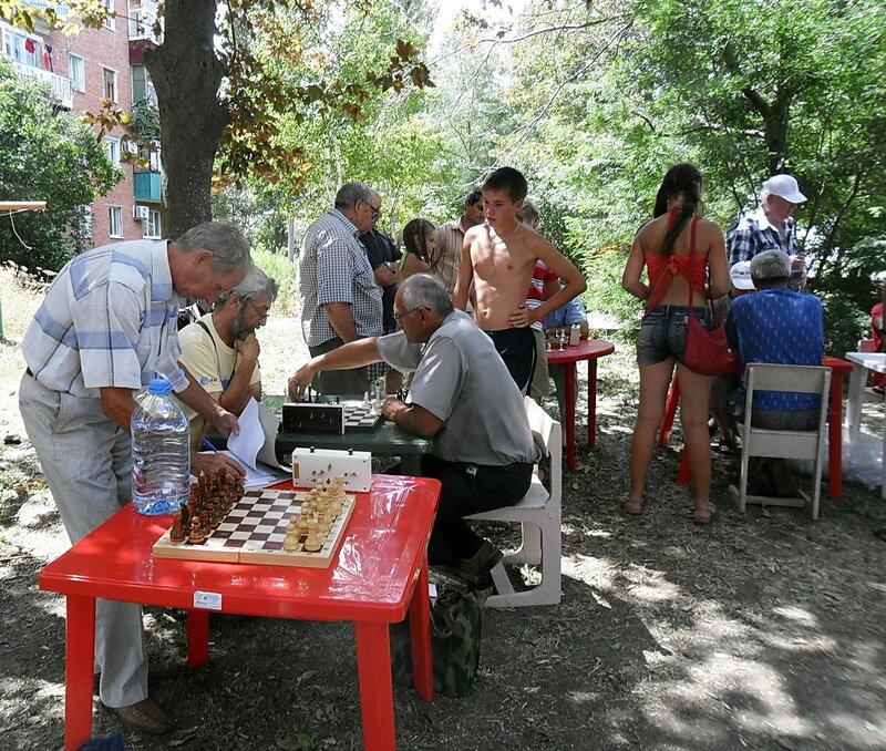 Шахматные соревнования в честь Дня ВМФ, 2012-07-29, День города Приморско-Ахтарска, Приморско-Ахтарск