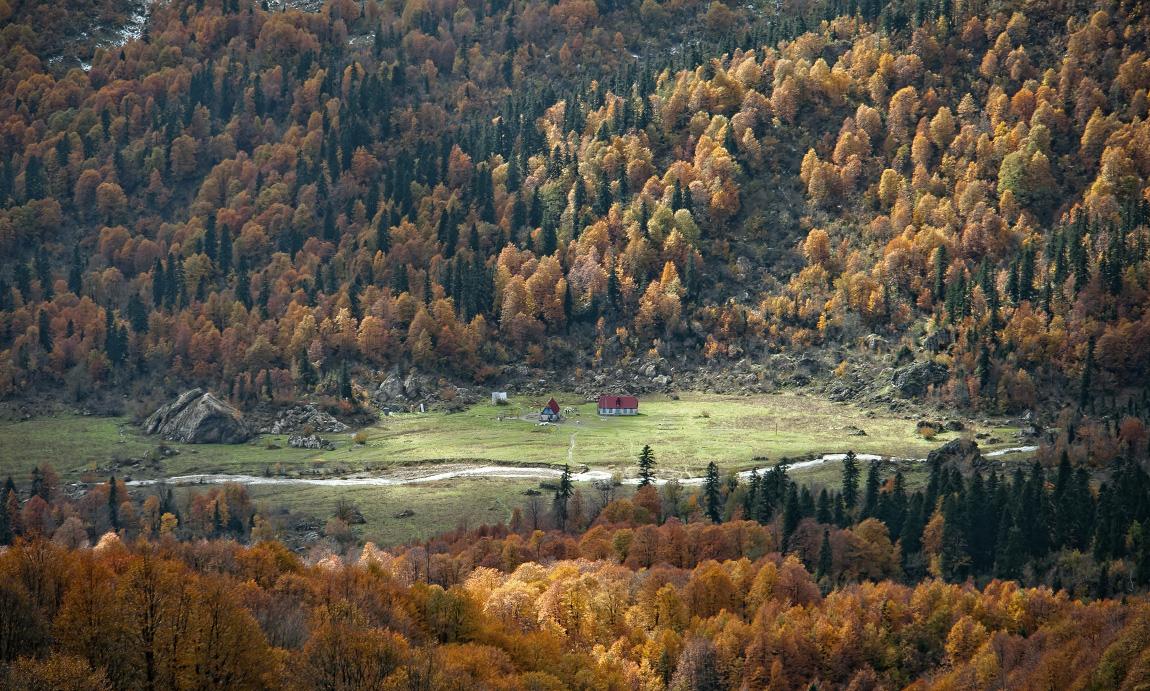 Горные пейзажи. Фотограф Михаил Зимин