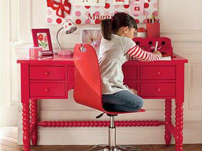 Обустраиваем детскую комнату для девочки.