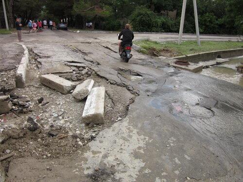 Дорога в Кабардинке