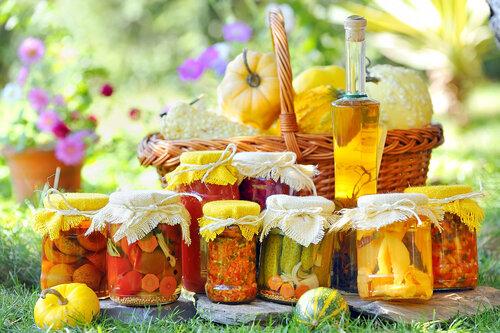 Консервирование овощей и фруктов на зиму. Различные заготовки