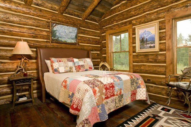 Native bedroom design