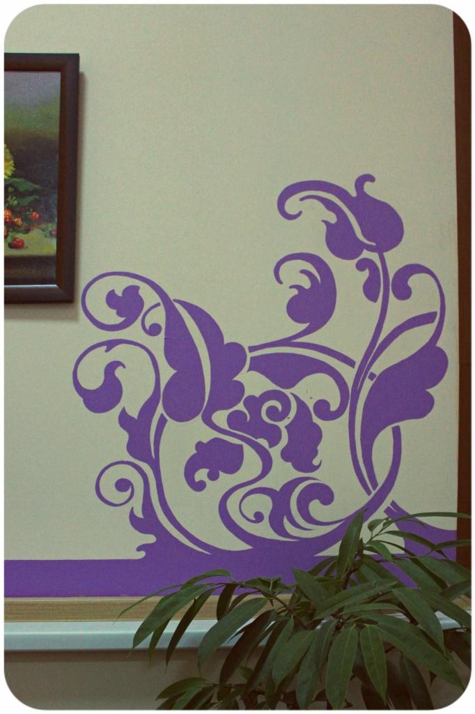 35 блестящих идей для росписи стен Рисунки на стенах в квартире