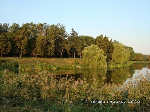 Андрушівка садиба маєток Терещенко літо серпень 2008
