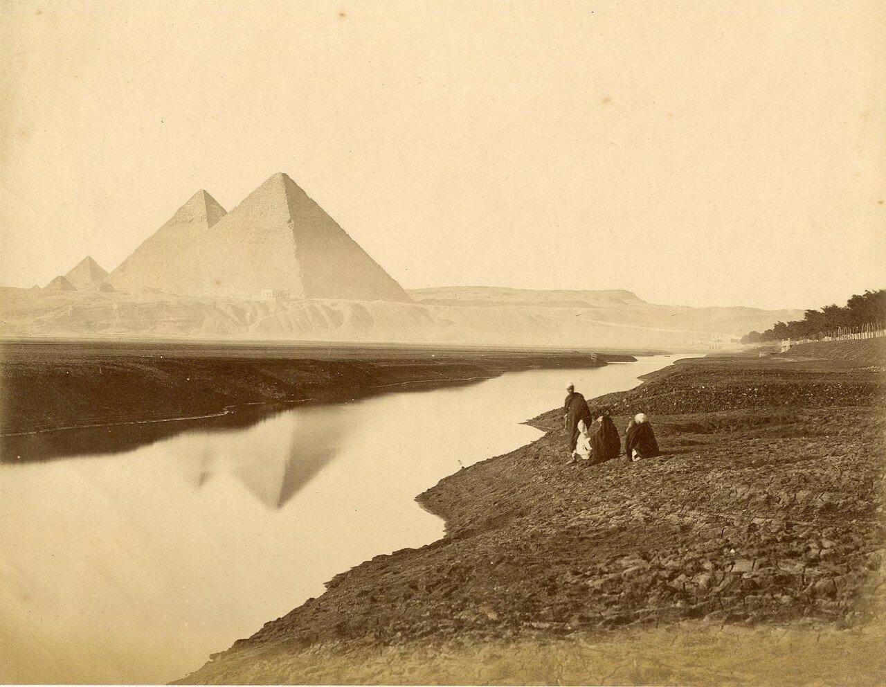 Гиза. Пирамиды 1880-е