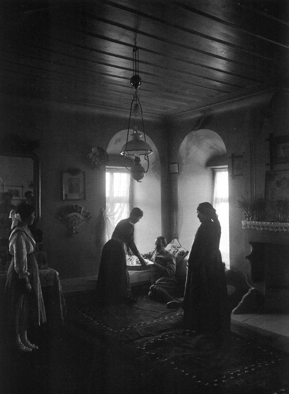 1911. Кастория, Македония. Внутри особняка