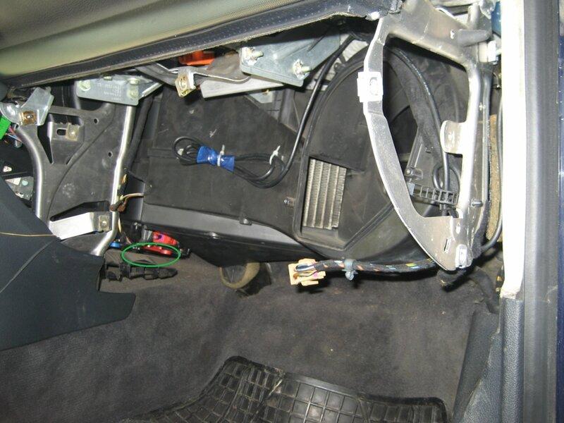 замена радиатора отопителя audi a4 b6