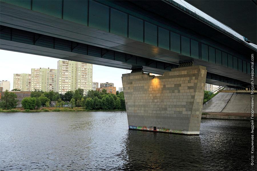 мост Ленинградского шоссе через канал имени Москвы