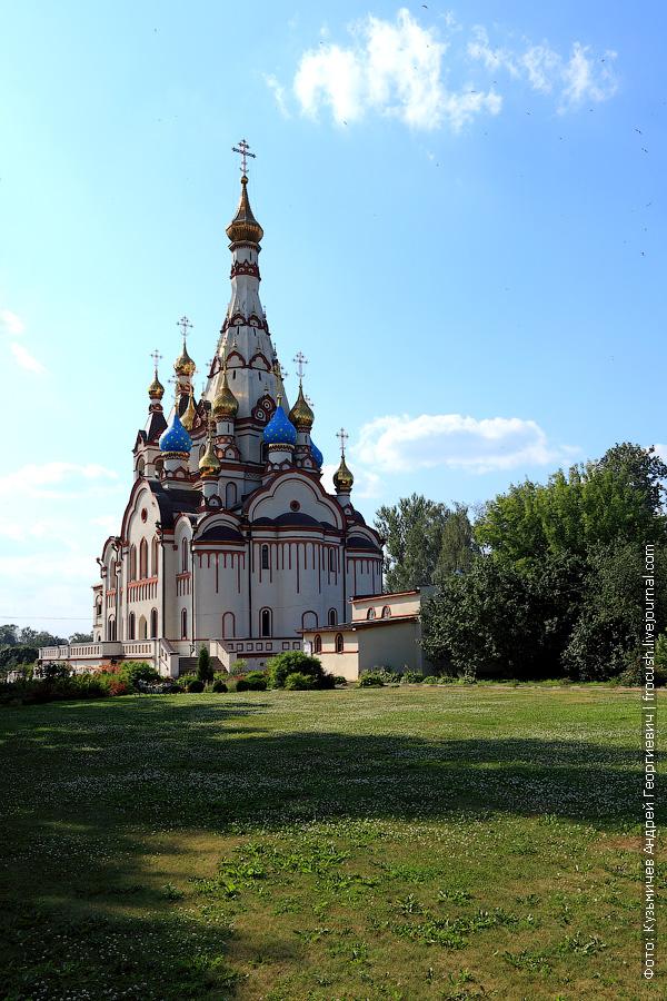 Храм во имя Казанской иконы Божией Матери в Долгопрудном