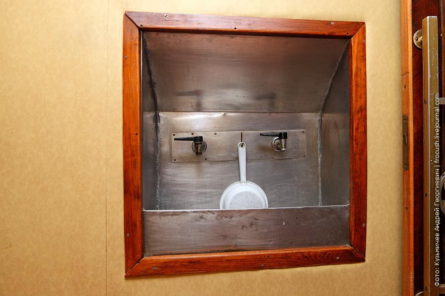 теплоход Бородино питьевая вода