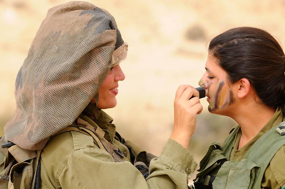 Военные женщины Израиля