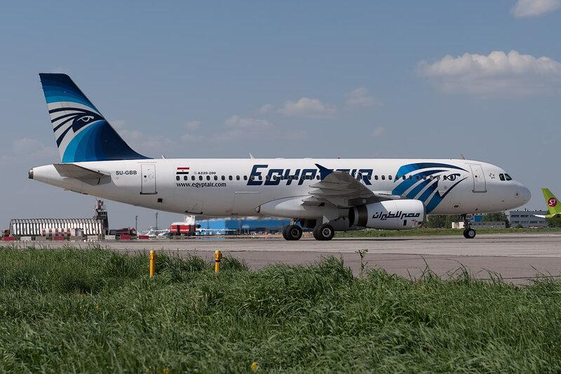 Airbus A320-231 (SU-GBB) Egypt Air DSC_0011