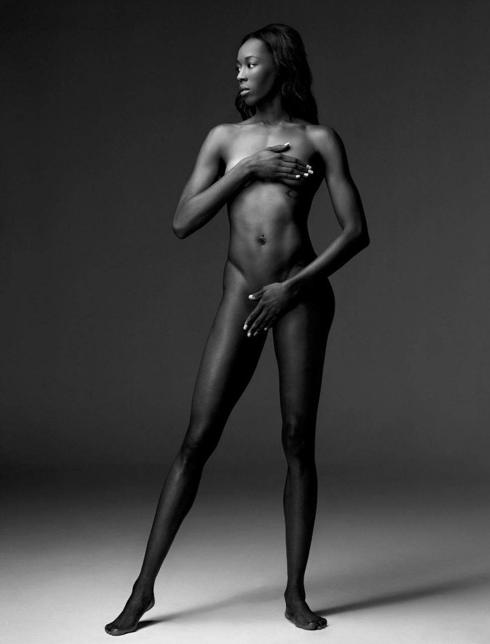 Спортивное голое тело женщин 5 фотография