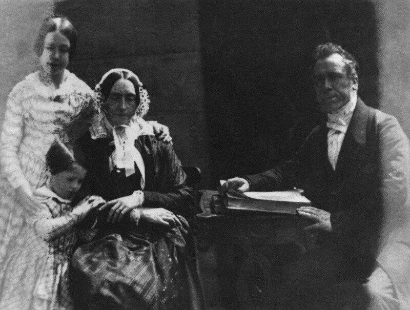 NPG P6(138); Ebenezer Miller and his family