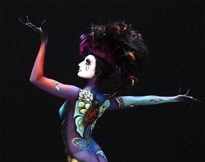 Всемирный фестиваль боди-арта 2012