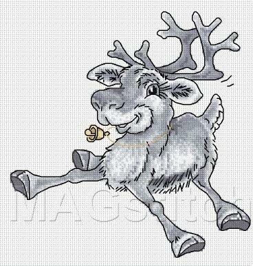 свой цитатник или сообщество!  Олени: северный и рождественский.Схемы вышивки. http://MAGstitch.ru.