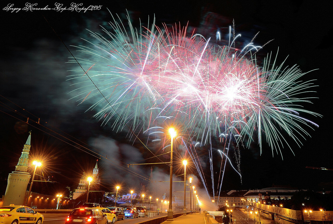 Салют фестиваля Спасская Башня 2015 №19