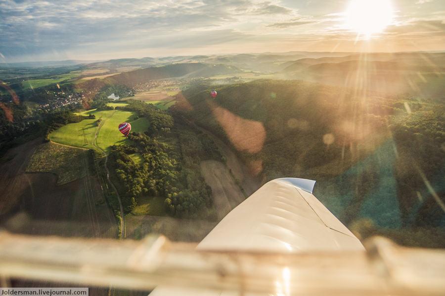 воздушные шары над чехией