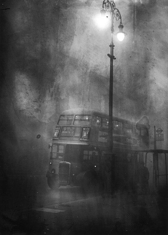 Fleet Street In Smog