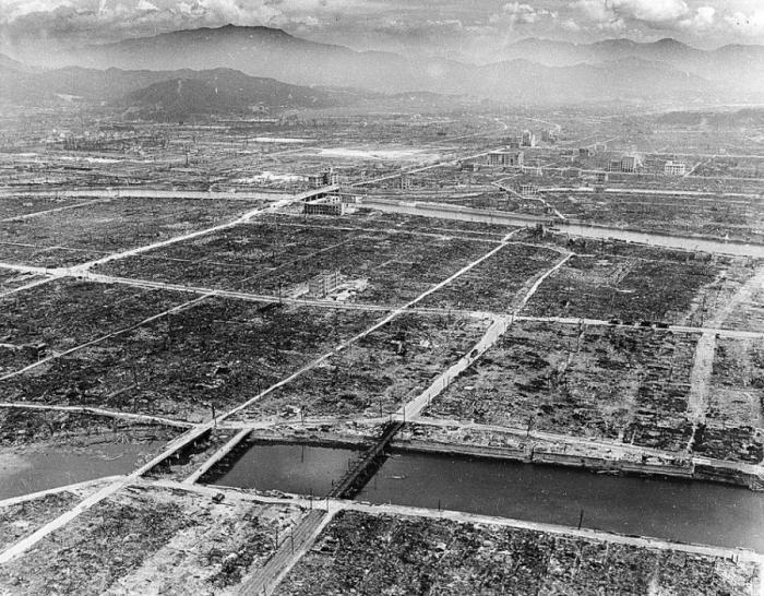 Атомная бомбардировка Хиросимы и Нагасаки
