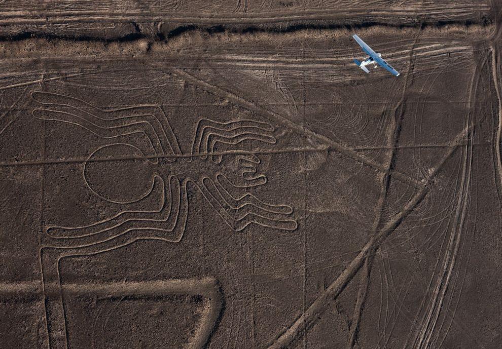 Ученые рассказали о происхождении рисунков на плато Наска