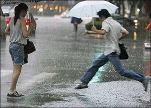 Орел, 17 июля, ливень, гроза, штормовое предупреждение, ЧС