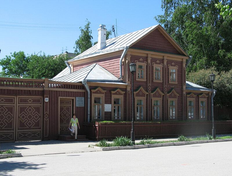 Рязань. Музей-усадьба академика И.П.Павлова