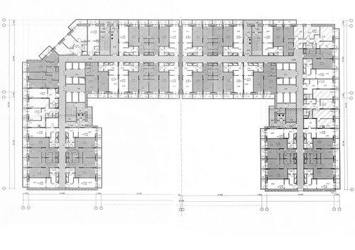 Экспликациооный план 9 этажа.