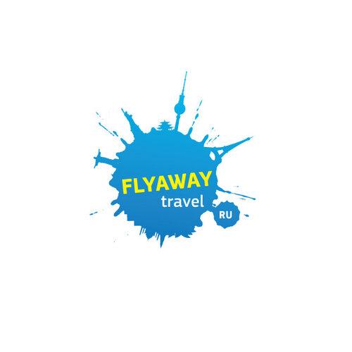 Логотип для туристической компании FLY AWAY TRAVEL
