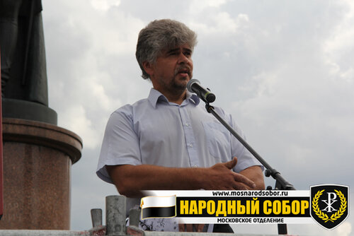 Сергеев Владимир Сергеевич, руководитель правозащитной организации «Народная защита», член ЦС ООД «Народный Собор»