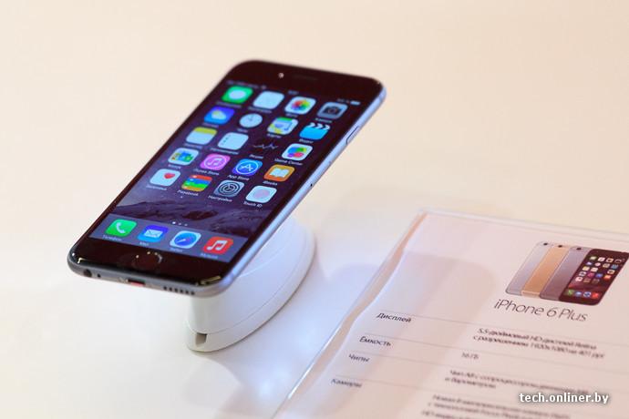 В Беларуси начались официальные продажи Apple iPhone