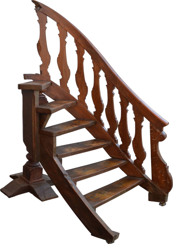 dkerkhof - libby the librarian - antique library ladder.png