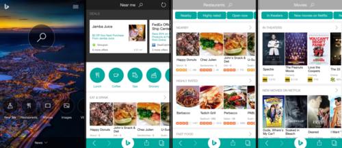 Microsoft существенно переработал приложение Bing для iPhone