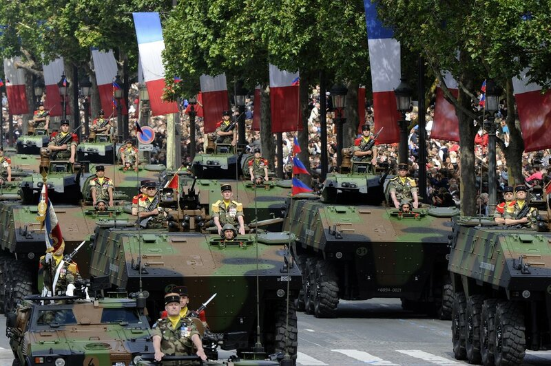 French Infantry fighting vehicles (VBCI)