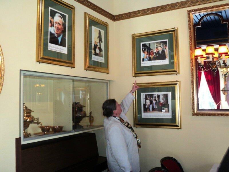 В усадьбе Хайкко бережно сохраняют память о Великом Князе Владимире Кирилловиче