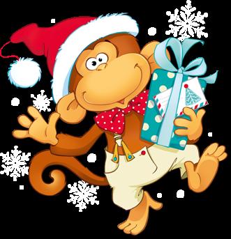 Картинка обезьяна символ года