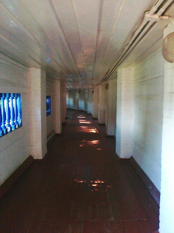 Крытая галерея Печерской лавры