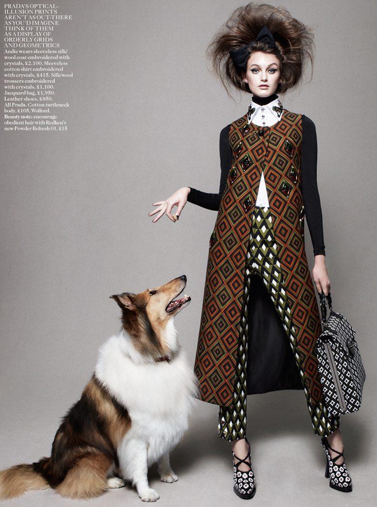 Best In Show - Andie Arthur / Энди Артур, фотограф Daniel Jackson в журнале Vogue UK, август 2012